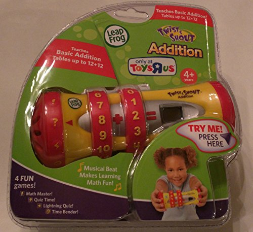 LeapFrog Twist & Shout Addition  Math Learning Game with