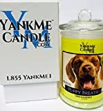 Yank Me Candle 'Puppy Breath' Scented Jar Candle …