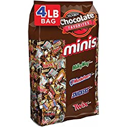 MARS Chocolate Minis Size Candy Bars Variety Mix 67.2-Ounce 240-Piece Bag