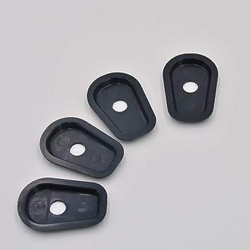 Negro Espaciadores adaptadores de luces de se/ñalizaci/ón de giro para Kawasaki Z250 Z300 Z650 Z750 Z800 Z900 Z1000 Z1000SX Z750S Z250SL