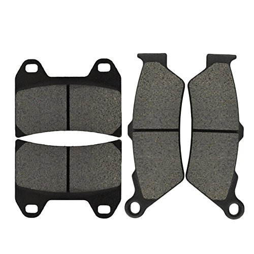AHL Front & Rear Brake Pads Set for Victory V92C (All Models Single Front Rotor) 1998-2003 (Semi-metallic)
