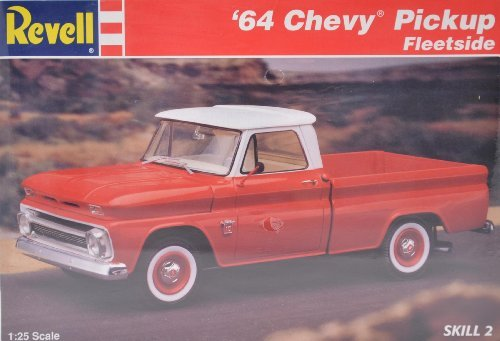 Revell 64 Chevy Pickup Fleetside Model 7613 1:25 Scale Chevy Fleetside Pickup
