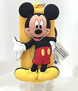 Disney Parks Mickey Mouse Hand Sanitizer Holder Bag Hanger
