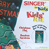 Singer For Kids, Kids' Kit: Christmas Flag by Singer Sewing by Singer Sewing