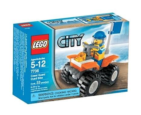 Amazon Lego City Quad Bike Toys Games