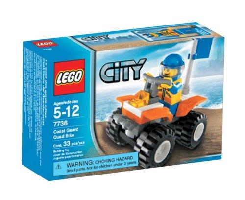 LEGO City Coast Guard Quad Bike 7736 Building Kit (33 Piece) (Bike Quad Lego)