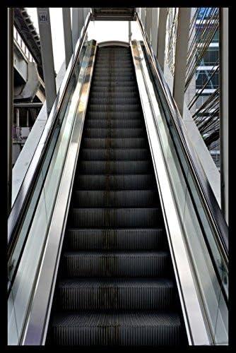 De plata de escalera mecánica de hady Dani, madera, 110 x 165cm: Amazon.es: Hogar