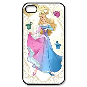 Unique Design -ZE-MIN PHONE CASE For Iphone 4 4S case cover -Sleeping Beauty-Maleficient Pattern 1