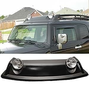 Amazon Com Fog Light Roof Rack Fits 2007 2014 Toyota Fj