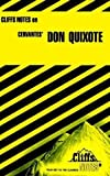 Don Quixote (Cliffs Notes) by Sturman, Marianne (1964) Paperback