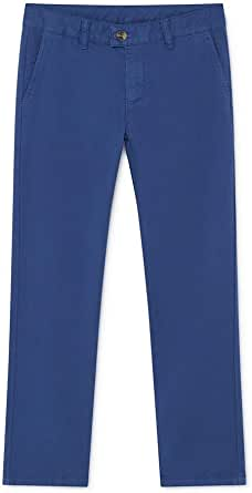 Hackett London- GMD Chino B- 551 Azul- PANTALÓN Chino para NIÑOS