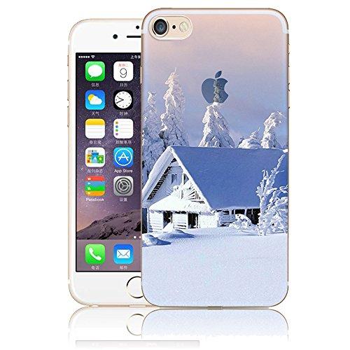 Funda para iPhone 6 Plus, Vandot TPU Silicona Pintado Funda para iPhone 6s Plus Patrones de Pintura Case Suave Flexible Silicone Gel Paisaje Cajas de Teléfono móvil para iPhone 6 Plus / 6s Plus 5.5 - Scenery 26