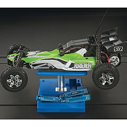 Duratrax Pit Tech Deluxe RC Car and Truck Work Stand, Blue