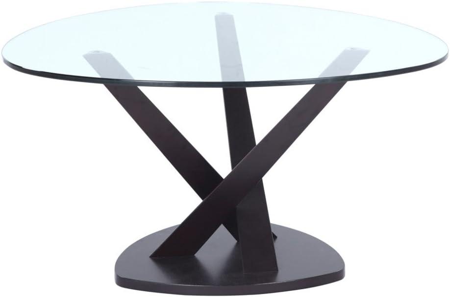 fine mod imports split coffee table black