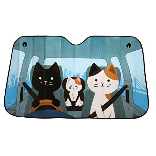 funny sunshade for car windshield - 4