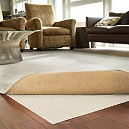 LINENSPA Non-Slip Area Rug Pad - Excellent Grip - Indoor - Rubberized - 8 x 10 Feet