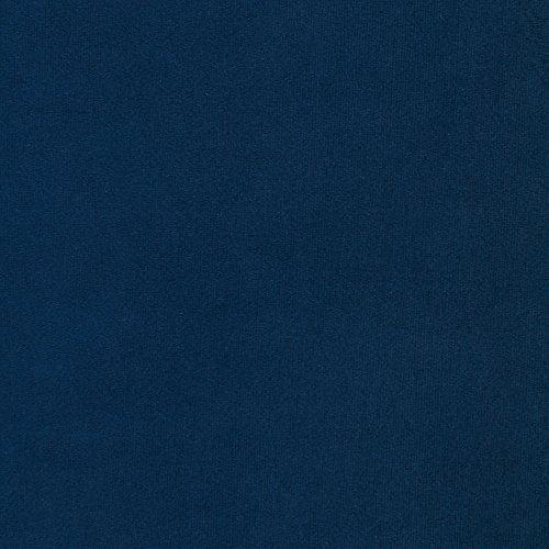 """Rivet Frederick Velvet Channel Tufted Modern Room Chair, 38""""W, Navy Blue"""