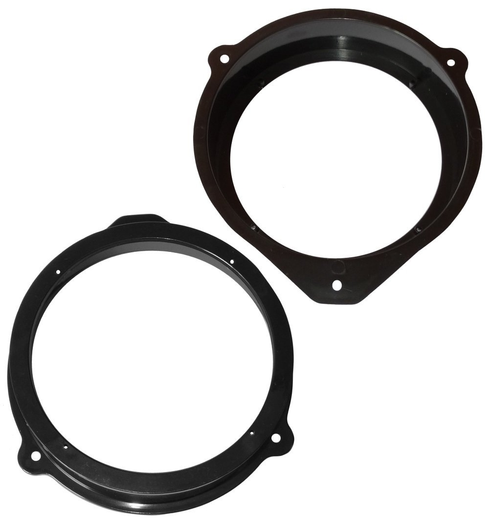 Aerzetix: 2 adaptateurs supports de haut-parleurs enceintes 165mm porte avant ou arriè re pour auto voiture SK2-C11639-A131