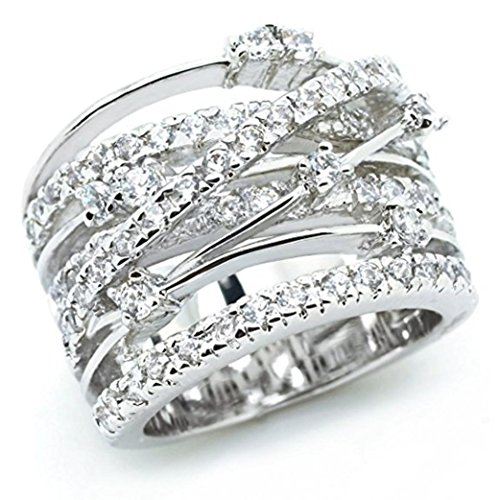 (Gyoume Women Elegant Exquisite Diamond Ring Gift Friendship Love Jewelry Ring (07,)