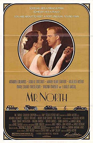 MR NORTH (1988) Authentic Original Movie Poster - Single-Sided - ROLLED - 27x40 - Anthony Edwards - Robert Mitchum - Lauren Bacall - Harry Dean Stanton ()