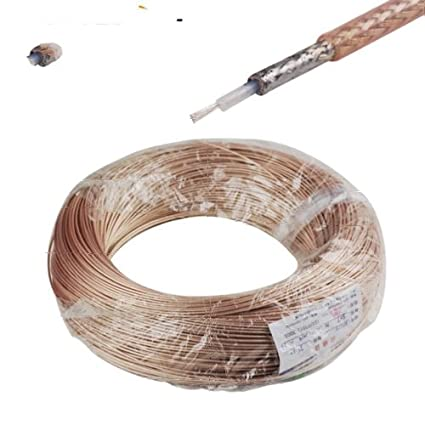5 Meters Flexible RG178 Single Shielded RF Coaxial Cable