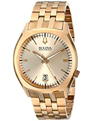 Bulova Men's Accutron II 97B134 Gold Stainless-Steel Quartz Watch