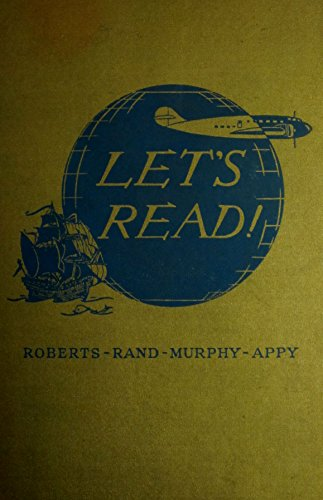 """Let's Read """"Growing Up In Reading"""" by Robers, Rand, Murphy, Appy (Hard Cover 1939)"""