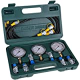 Hydraulic Tester - Excavator Hydraulic Pressure Test Kit with Testing Hose Coupling and Gauge