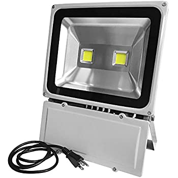 this item glw super bright 100w led flood lightip65 waterproof security landscape leds daylight white 50006000k wall - Led Flood Lights Outdoor