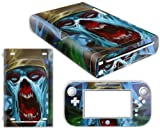 Vinyl Decal Skin Sticker Cover for WII U-zombie