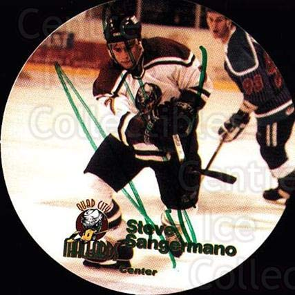 (CI) Stephen Sangermano Hockey Card 1996-97 Quad City for sale  Delivered anywhere in USA