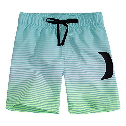 (Hurley Boys' Little Pull On Board Shorts, Tropical Twist Fade 7)
