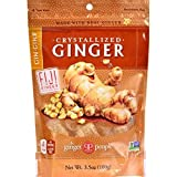 The Ginger People Crystallized Ginger, 3.5-Ounce Bags ( Value Bulk Multi-pack)