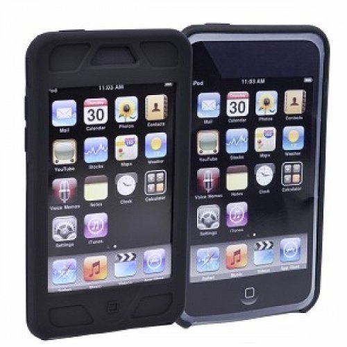 - Hybrid Kickstand Case & Silicone Skin for iPod Touch 2nd/3rd Gen w/Sport Armband, Screen Protector - switchKASE t3