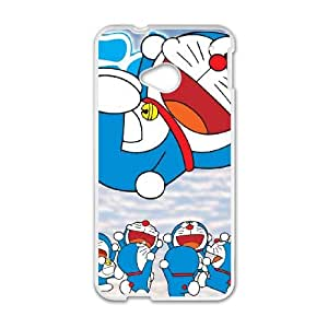 HTC One M7 Cell Phone Case White Doraemon 09 Lpno