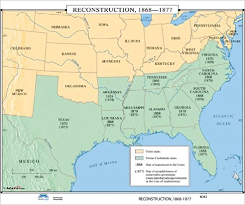 Amazon.com: The Reconstruction (U.S. History Wall Maps ... on venus map, pekin map, normal map, inuyasha map, marshall county map, sprite map, globe map, muskegon county boundary map, inche in continental us map, guess map, river valley map, dwarf map, peoria map, adidas map, bugbear map, nike map, el paso map,