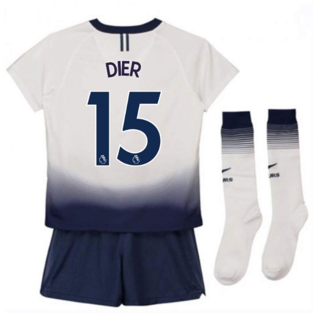 UKSoccershop 2018-2019 Tottenham Home Nike Baby Kit (Eric Dier 15)