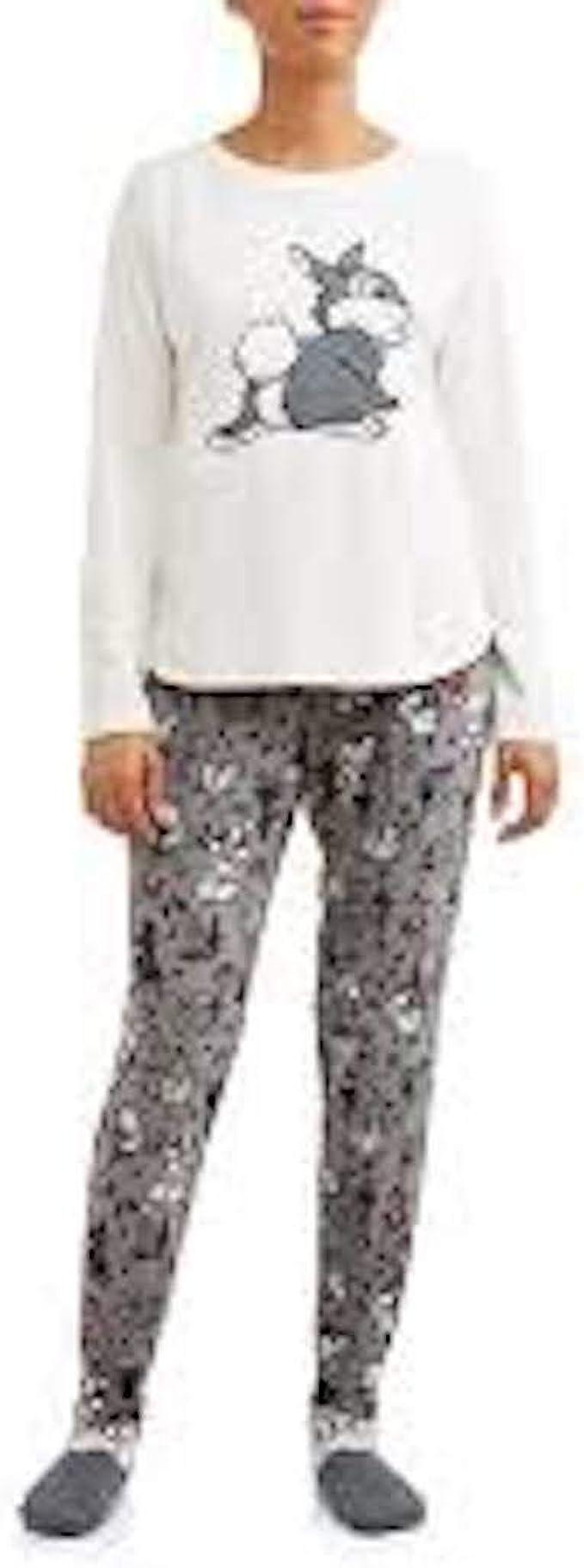Thumper PJ Set Disney Primark Relax Bambi Womens Ladies Pyjamas UK Sizes 6 to 20
