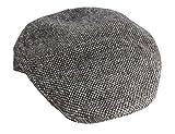 Touring Cap Gray Irish Tweed Donegal Town Hanna Hats Ireland XL