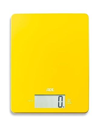 ADE KE1800-2 Báscula de Cocina, 5 kg, plástico ABS, Amarillo: Amazon.es: Hogar