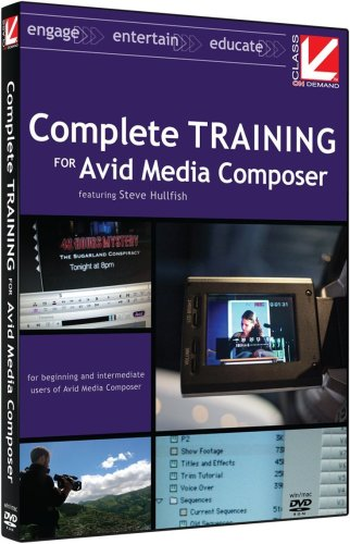 Class on Demand 2008: Complete Training for Avid Media Composer Educational Training Tutorial DVD: Includes Lessons for Avid Xpress Pro users Moving to Media Composer - Tutorial Dvd Composer