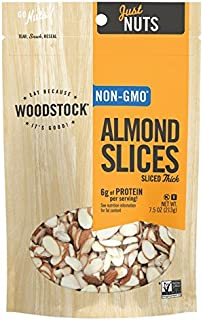 product image for Woodstock Farms Natural Almonds Thick Sliced - 8 oz