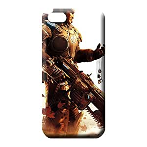 iphone 4 4s mobile phone cases High Quality case colorful gears of war