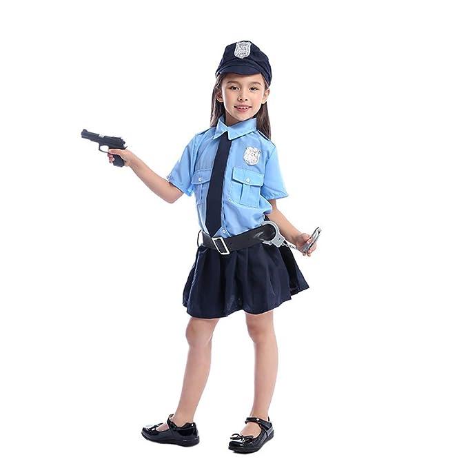 Amazon.com Full Set Cute Girls Tiny Cop Police Officer