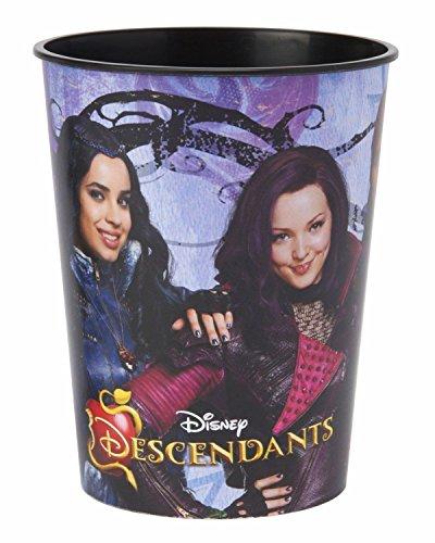 Disney Lot of 12 Descendants 16oz Reusable Party Plastic Cup ~Party Favor Supplies~