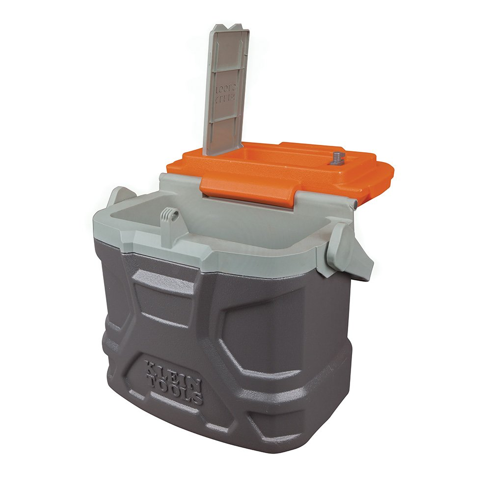 Lunch Box, Insulated Cooler Tote Has 9-Quart Capacity and Seats up to 300 Pounds Klein Tools 55625 by Klein Tools (Image #5)