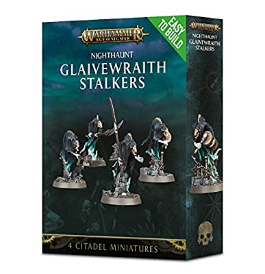 Citadel Easy-To-Build Nighthaunt Glaivewraith Stalkers Warhammer Age of Sigmar by Warhammer