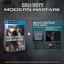 Call of Duty: Modern Warfare - Edition Exclusive Amazon (PS4) - PlayStation 4 [Importación francesa]