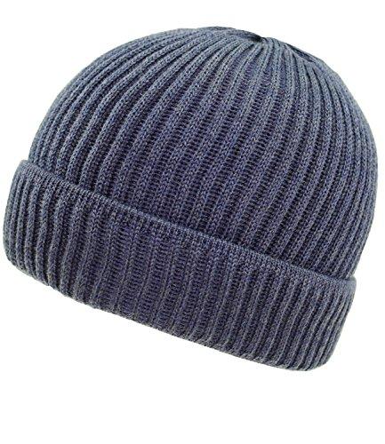 FI En Con Jeans Gorro HE1 Larva Forro EveryHead Punto W16 Fiebig Beanie Alemania 45689 incl Azules Sombrero Invierno Los Hombres De Hutfibel 4PqSxF