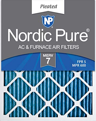 Nordic Pure 12x24x1 Pleated Furnace